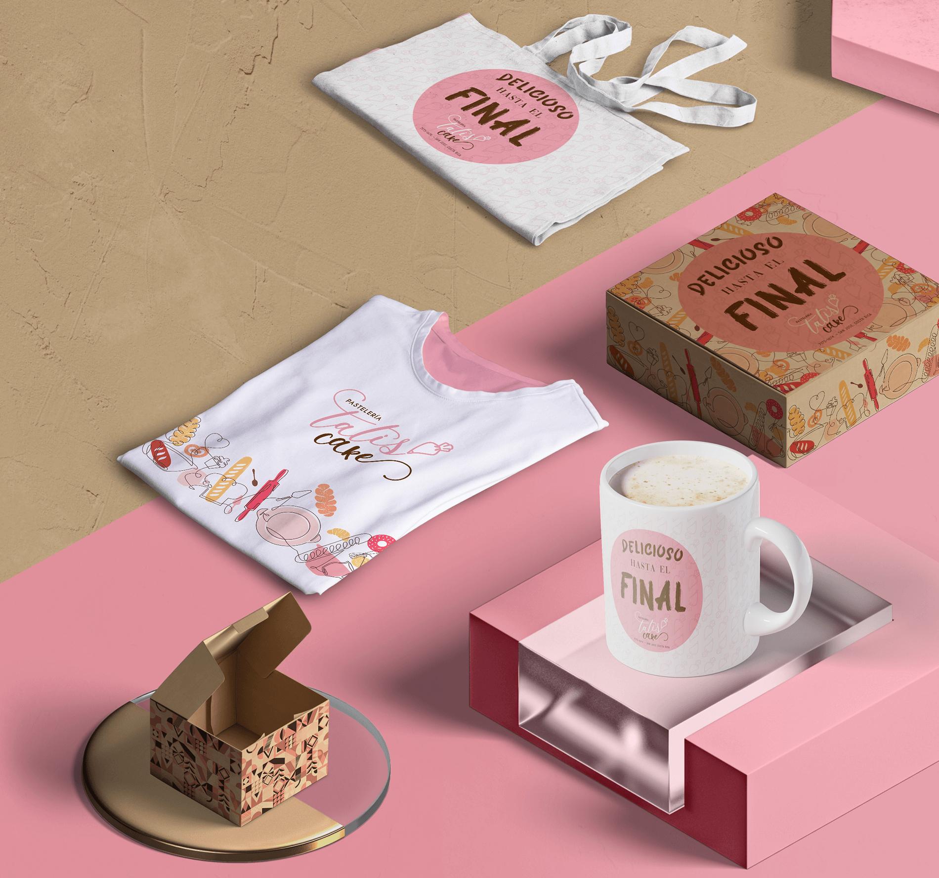 Branding Tatis Cake - Agencia Quitlis